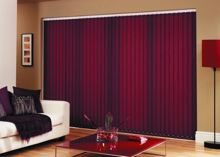 вертикальные тканевые шторы